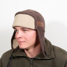 Шапка-ушанка Навигатор (коричневая)