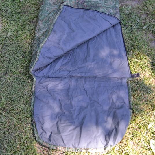 Спальник-одеяло Гигант с подголовником (+10С КМФ)