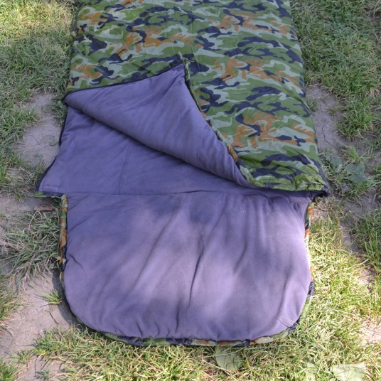 Спальник-одеяло с подголовником (+10С КМФ)