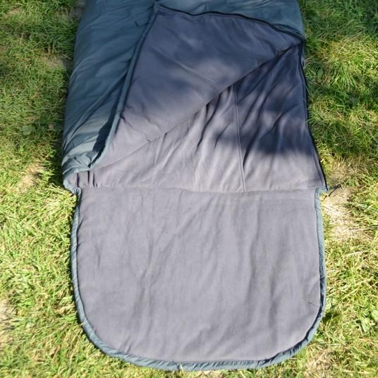 Спальник-одеяло с подголовником (+10C)